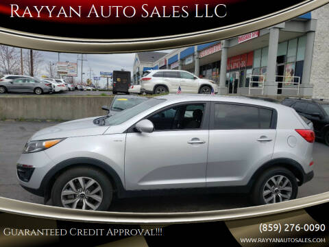 2015 Kia Sportage for sale at Rayyan Auto Mall in Lexington KY