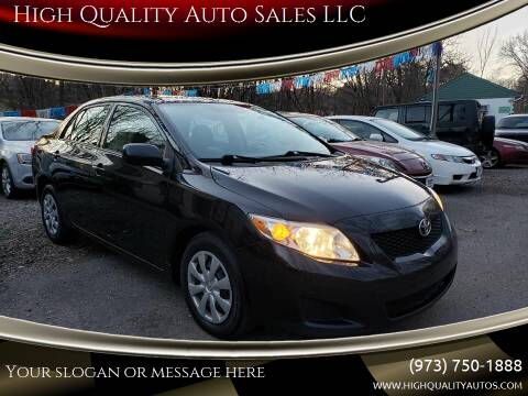 2010 Toyota Corolla for sale at High Quality Auto Sales LLC in Bloomingdale NJ