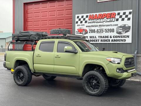 2017 Toyota Tacoma for sale at Harper Motorsports-Vehicles in Post Falls ID