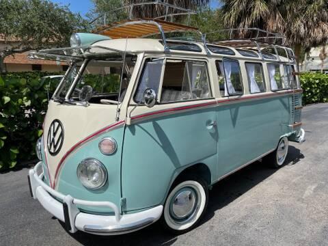 1969 Volkswagen Vanagon for sale at DS Motors in Boca Raton FL