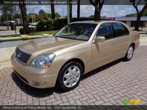 2003 Lexus LS 430 for sale at Glory Auto Sales LTD in Reynoldsburg OH