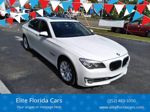 2014 BMW 7 Series for sale at Elite Florida Cars in Tavares FL