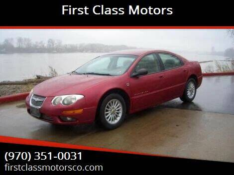 1999 Chrysler 300M for sale at First Class Motors in Greeley CO