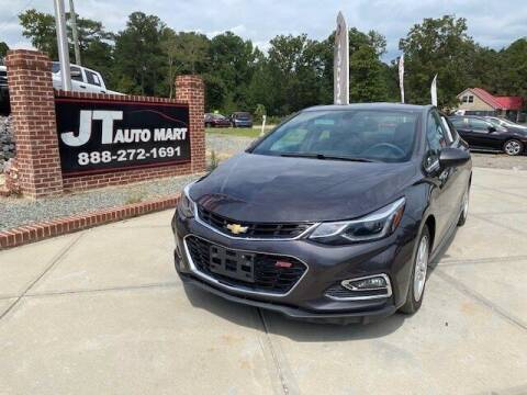 2017 Chevrolet Cruze for sale at J T Auto Group in Sanford NC