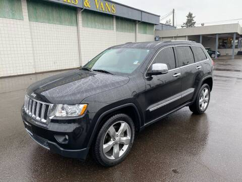 2012 Jeep Grand Cherokee for sale at Vista Auto Sales in Lakewood WA