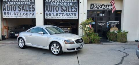 2004 Audi TT for sale at Affordable Imports Auto Sales in Murrieta CA