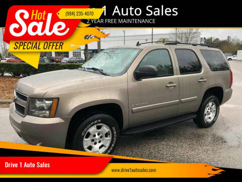 2007 Chevrolet Tahoe for sale at Drive 1 Auto Sales in Wake Forest NC