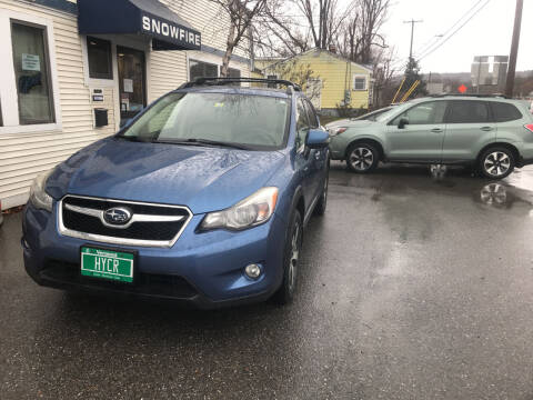 2014 Subaru XV Crosstrek for sale at Snowfire Auto in Waterbury VT