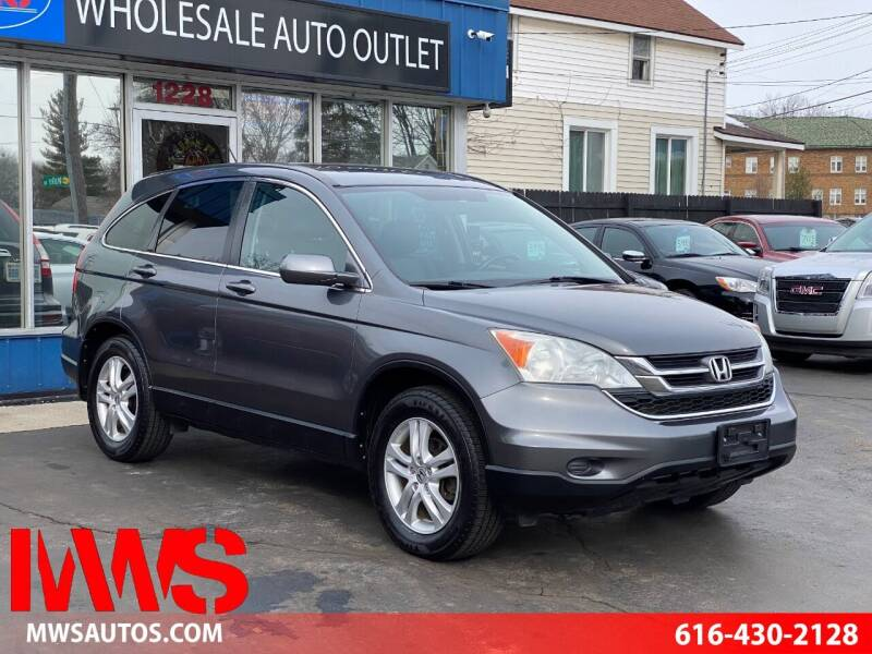 2010 Honda CR-V for sale at MWS Wholesale  Auto Outlet in Grand Rapids MI