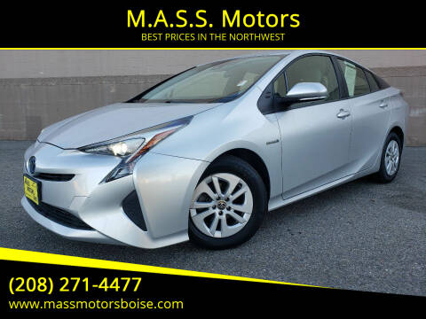 2017 Toyota Prius for sale at M.A.S.S. Motors - Emerald in Boise ID