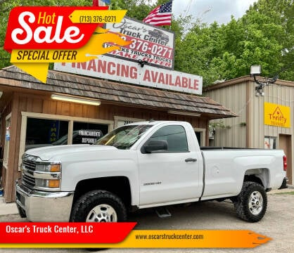 2015 Chevrolet Silverado 2500HD for sale at Oscar's Truck Center, LLC in Houston TX