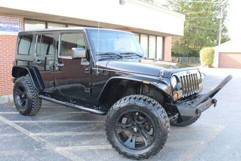 2012 Jeep Wrangler Unlimited for sale at JZ Auto Sales in Summit IL