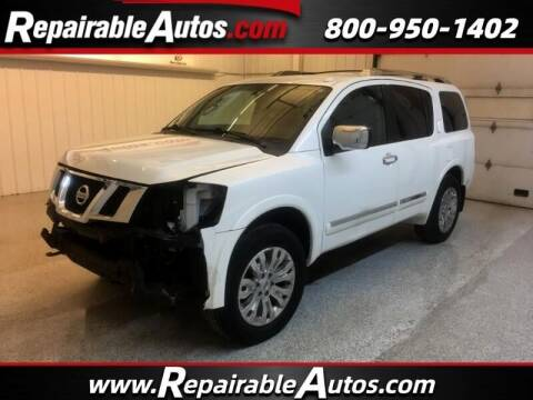 2015 Nissan Armada for sale at Ken's Auto in Strasburg ND
