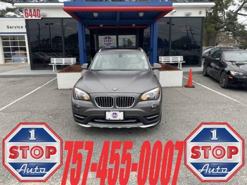 2015 BMW X1 for sale at 1 Stop Auto in Norfolk VA