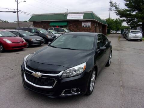 2015 Chevrolet Malibu for sale at Auto Sales Sheila, Inc in Louisville KY