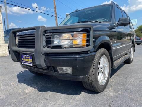 2002 Land Rover Range Rover for sale at A-1 Auto Broker Inc. in San Antonio TX