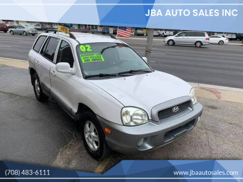 2002 Hyundai Santa Fe for sale at JBA Auto Sales Inc in Stone Park IL