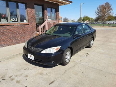 2003 Toyota Camry for sale at CARS4LESS AUTO SALES in Lincoln NE