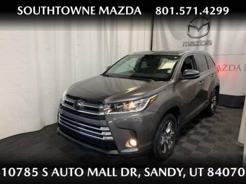 2018 Toyota Highlander for sale at Southtowne Mazda of Sandy in Sandy UT