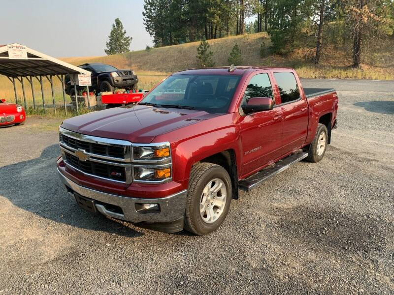 2015 Chevrolet Silverado 1500 for sale at CARLSON'S USED CARS in Troy ID