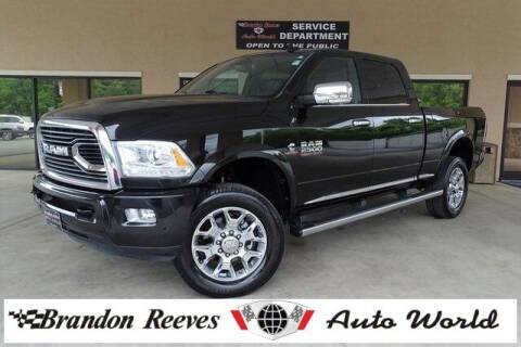 2016 RAM Ram Pickup 2500 for sale at Brandon Reeves Auto World in Monroe NC