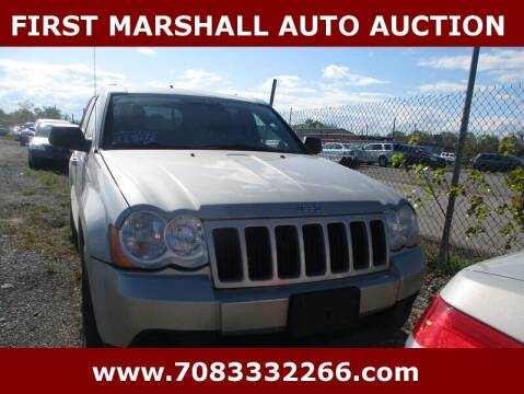 2008 Jeep Grand Cherokee for sale at First Marshall Auto Auction in Harvey IL