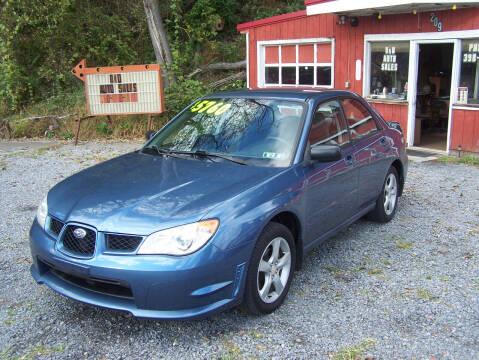2007 Subaru Impreza for sale at D & D AUTO SALES in Jersey Shore PA