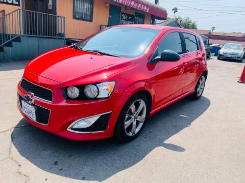 2013 Chevrolet Sonic for sale at Westcoast Auto Wholesale in Los Angeles CA