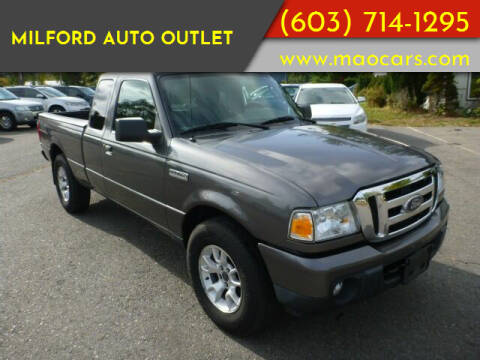 2010 Ford Ranger for sale at Milford Auto Outlet in Milford NH