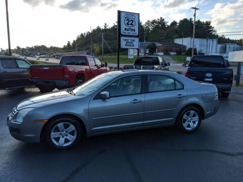 2008 Ford Fusion for sale at Route 22 Autos in Zanesville OH