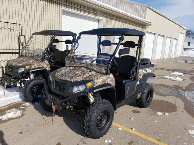 2020 Hisun Sector 500 for sale at Koop's Sales and Service in Vinton IA