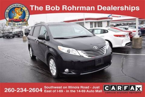 2017 Toyota Sienna for sale at BOB ROHRMAN FORT WAYNE TOYOTA in Fort Wayne IN