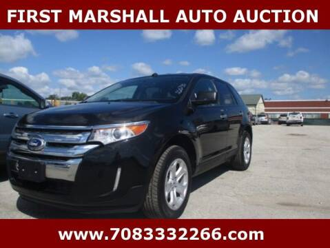 2011 Ford Edge for sale at First Marshall Auto Auction in Harvey IL