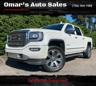 2016 GMC Sierra 1500 for sale at Omar's Auto Sales in Martinez GA