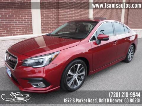 2018 Subaru Legacy for sale at SAM'S AUTOMOTIVE in Denver CO