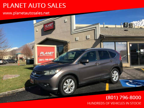 2013 Honda CR-V for sale at PLANET AUTO SALES in Lindon UT