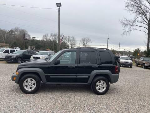 2006 Jeep Liberty for sale at Joye & Company INC, in Augusta GA