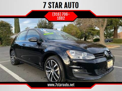 2016 Volkswagen Golf for sale at 7 STAR AUTO in Sacramento CA