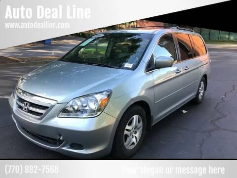 2006 Honda Odyssey for sale at Auto Deal Line in Alpharetta GA