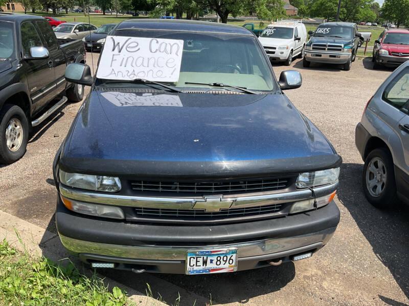 2001 Chevrolet Silverado 1500 for sale at Continental Auto Sales in White Bear Lake MN