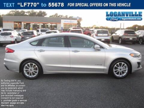 2019 Ford Fusion Hybrid for sale at Loganville Quick Lane and Tire Center in Loganville GA