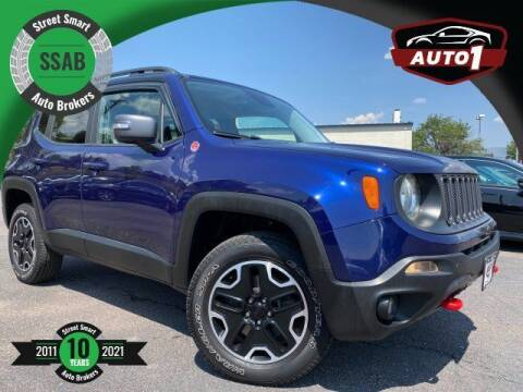 2017 Jeep Renegade for sale at Street Smart Auto Brokers in Colorado Springs CO