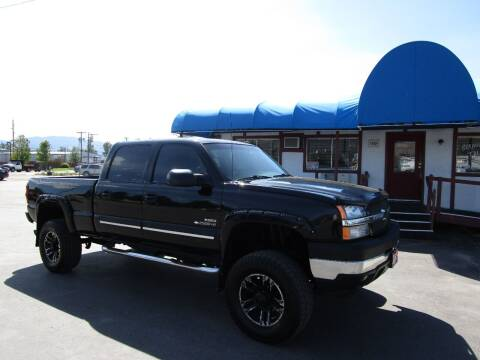 2003 Chevrolet Silverado 2500HD for sale at Jim's Cars by Priced-Rite Auto Sales in Missoula MT