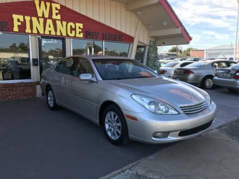 2002 Lexus ES 300 for sale at Caspian Auto Sales in Oklahoma City OK