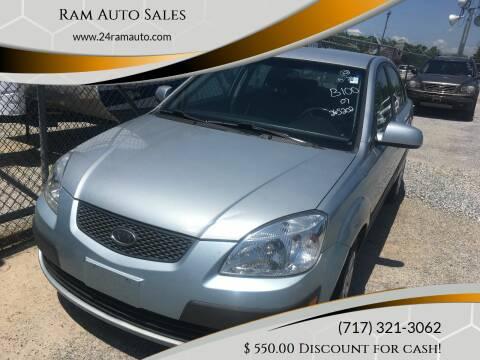 2007 Kia Rio for sale at Ram Auto Sales in Gettysburg PA