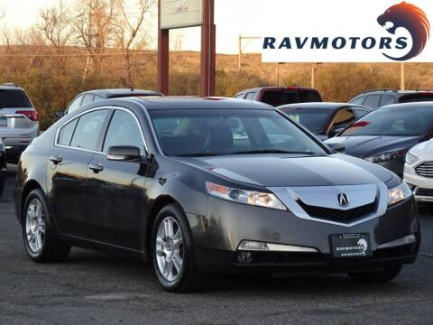 2011 Acura TL for sale at RAVMOTORS in Burnsville MN