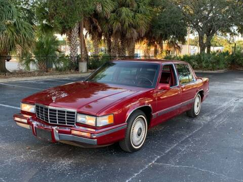 1993 Cadillac DeVille for sale at P J'S AUTO WORLD-CLASSICS in Clearwater FL