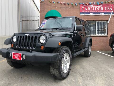 2013 Jeep Wrangler Unlimited for sale at Carlider USA in Everett MA