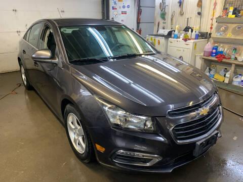 2015 Chevrolet Cruze for sale at BURNWORTH AUTO INC in Windber PA