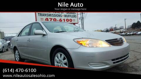 2002 Toyota Camry for sale at Nile Auto in Columbus OH